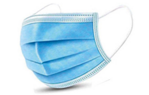 Nasen - Mundschutz - Maske, 10 Stück, 3-lagig mit Nasenbügel