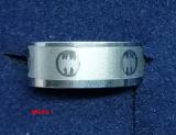Edelstahl Ring mit Motiv