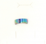 Edelstahl Ring regenbogenfarben mit Motiv